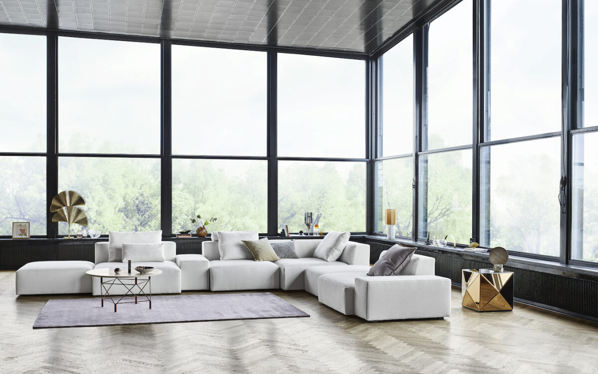Block corner sofa 490x380 cm Nature 07 ENVIR 19797